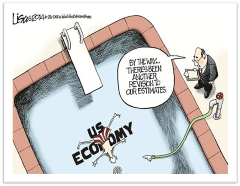 Cartoon: U.S. Economic Data Revisions