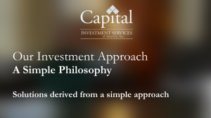 Video showing a simple investment philosophy